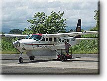 Quepos Sansa Flight